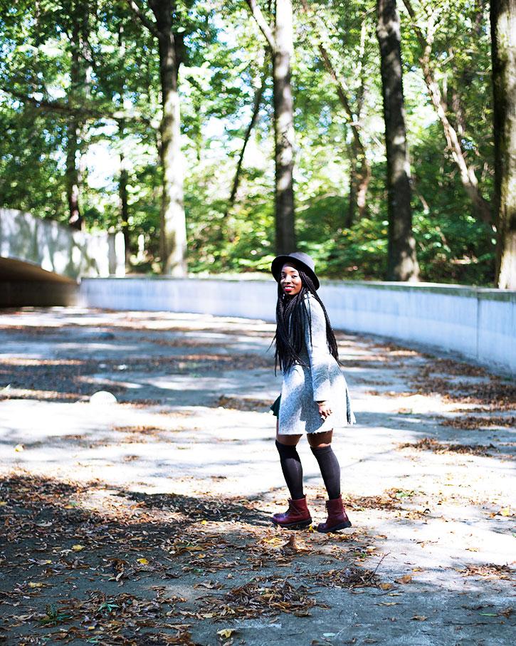 Tasha-James-The-Glossier-Fashion-Style-Beauty-Lifestyle-Blogger-DC-Arlington-Top-Streetstyle-Editorial-Box-Braids-Combat-Boots-Green-Dress-Asos-9.jpg