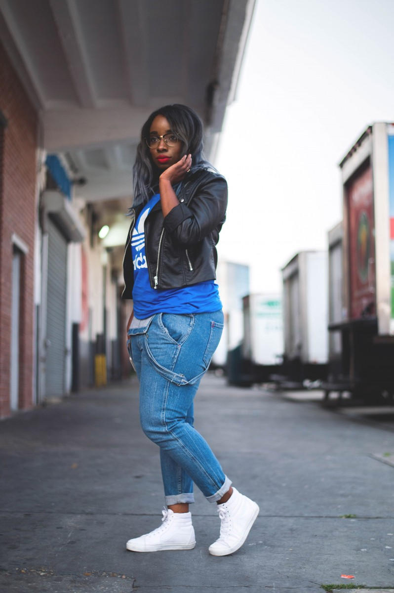 Tasha-James-The-Glossier-Overalls-Adidas-Vans-Red-Lips-Style-Fashion-Blogger-9 copy