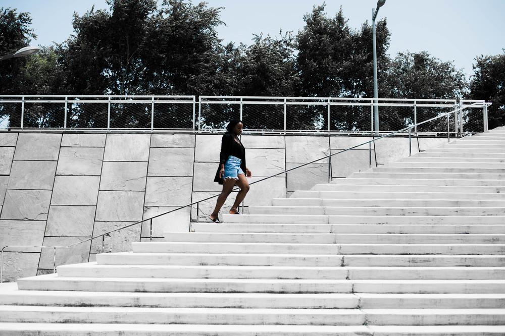 The-Glossier-Tasha-James-All-Black-Denim-Shorts-Fashion-Blogger-DC-Summer-2016-Blazer-Denim-9.jpg