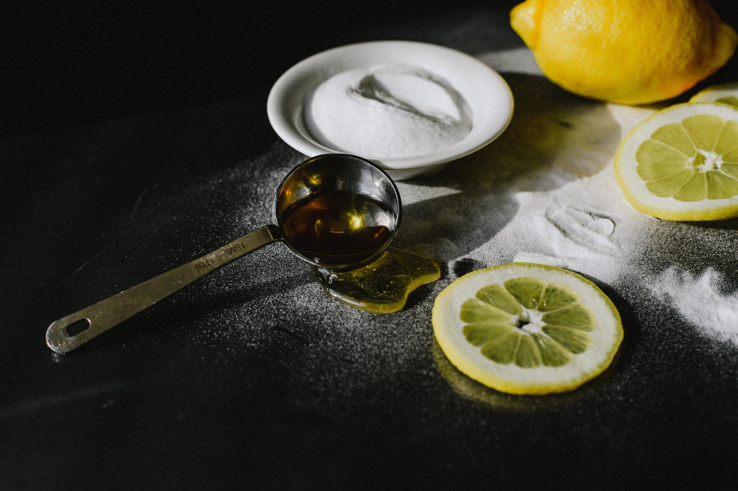diy face mask with lemon honey u0026 baking soda