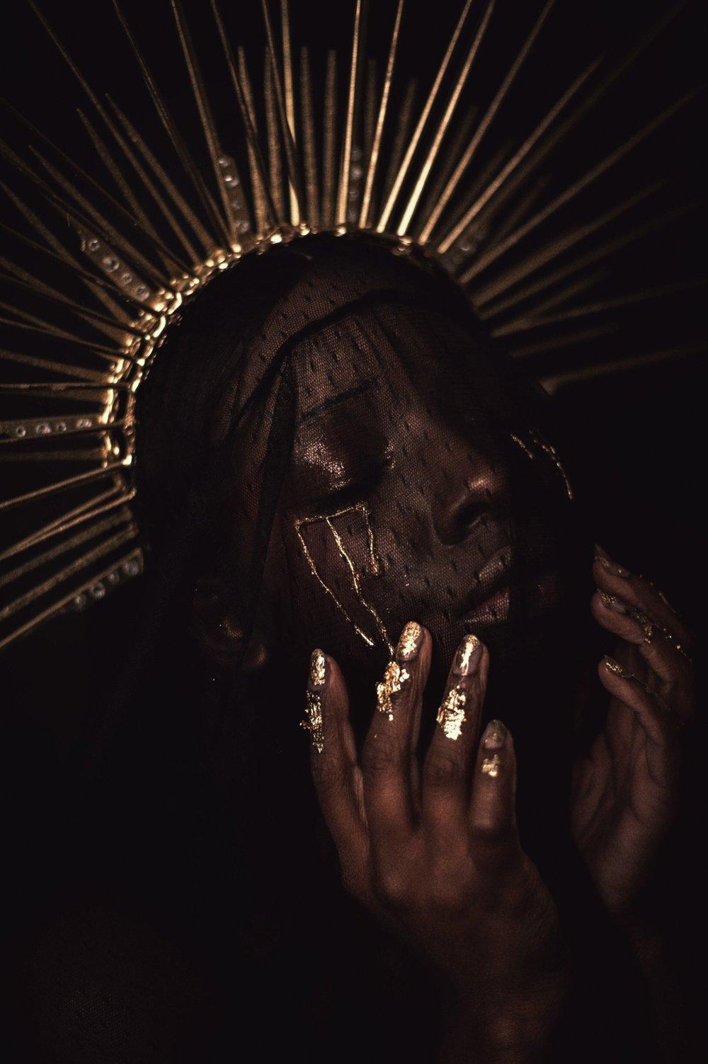TheGlossier-TashaJames-Halloween-2018-Crying-Saint-Gold-Heavenly-Bodies11.JPG