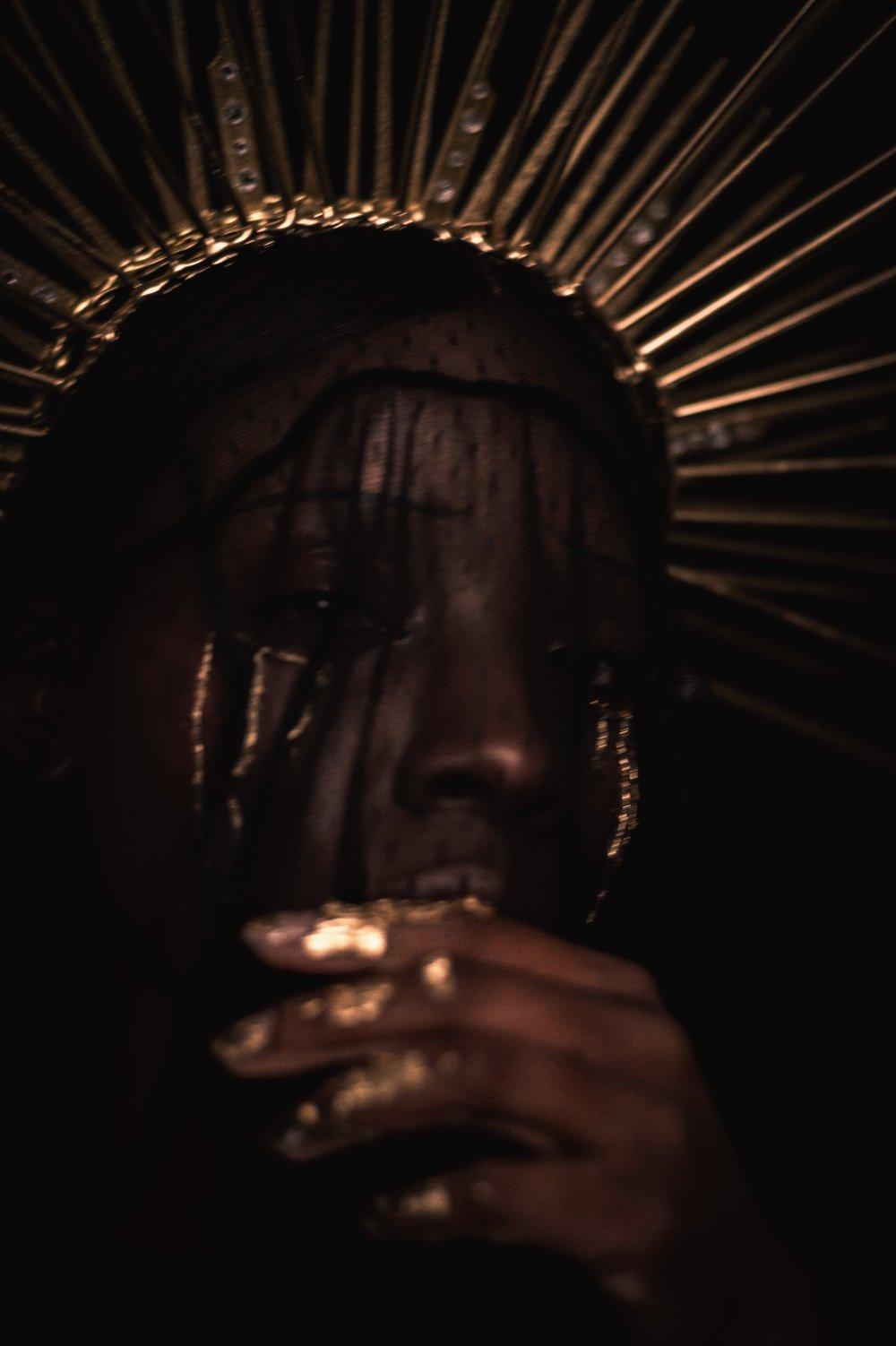 TheGlossier-TashaJames-Halloween-2018-Crying-Saint-Gold-Heavenly-Bodies17.JPG