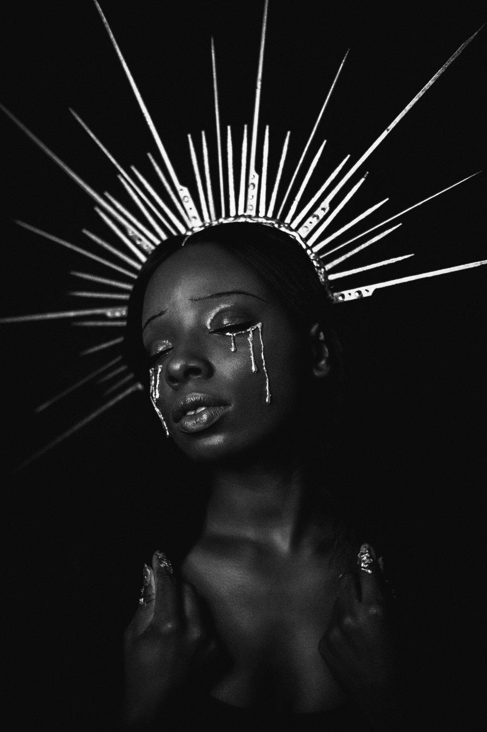 TheGlossier-TashaJames-Halloween-2018-Crying-Saint-Gold-Heavenly-Bodies14.JPG