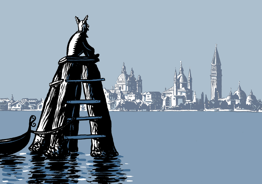 Nimbus in Venice.