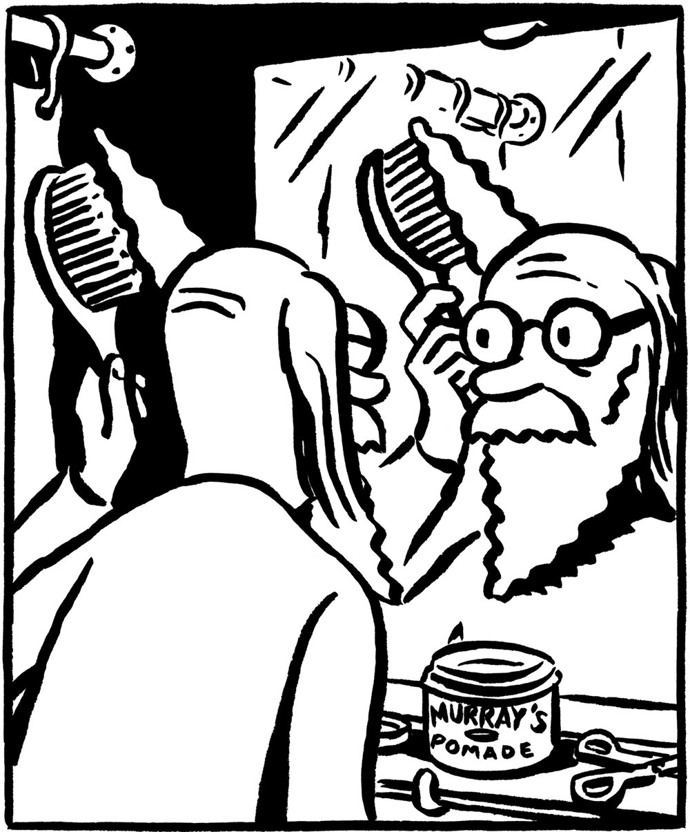 Panel from The Temptation of Nimbus.