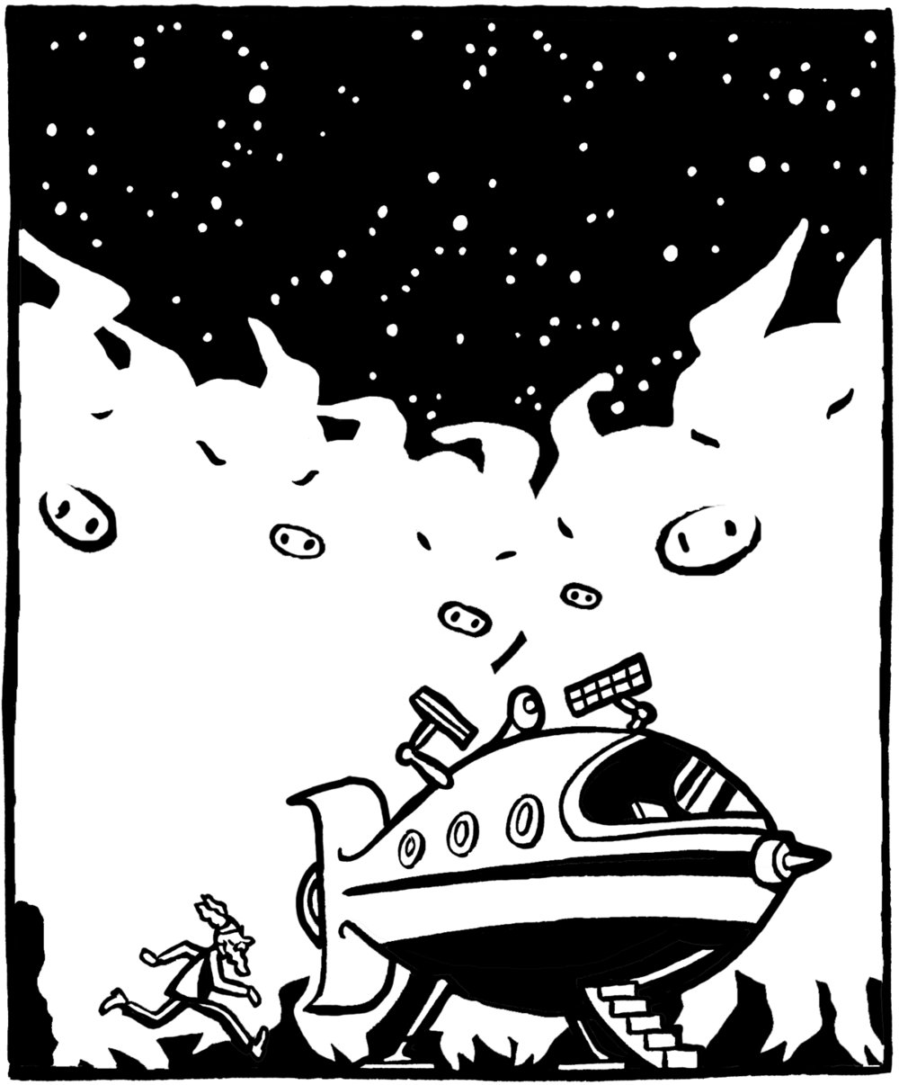 Panel from Nimbus and the Amazing Spectacles..