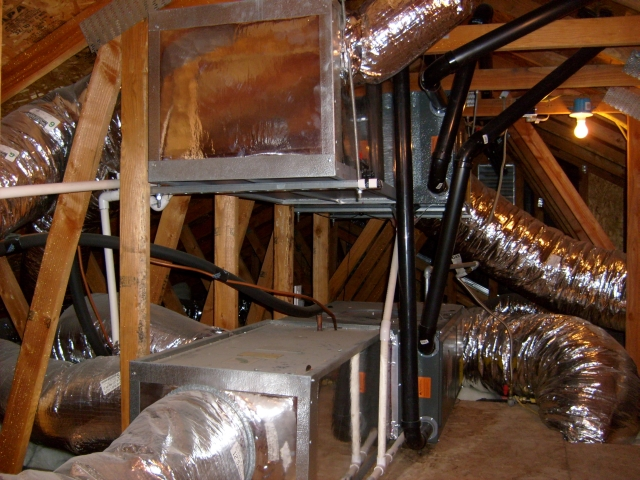 After an overhead duct conversion