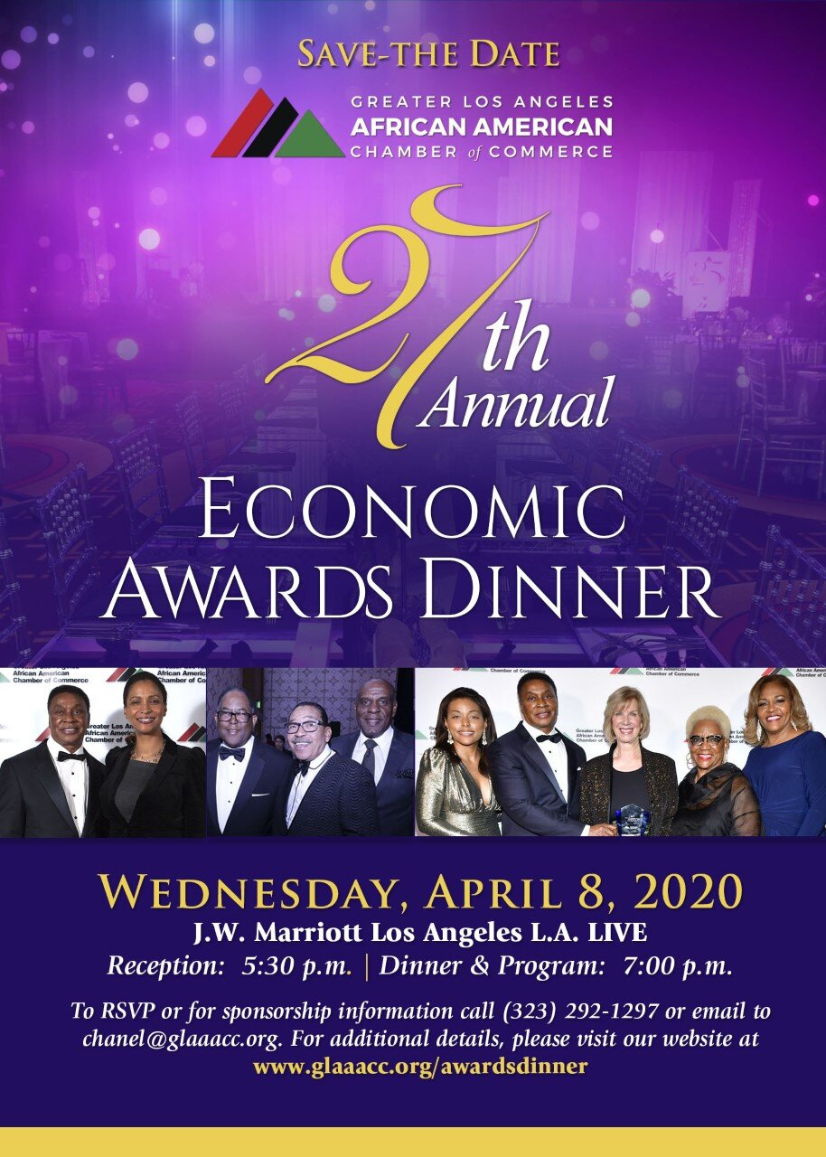26TH ANNUAL GLAAACC ECONOMIC AWARDS — GLAAACC