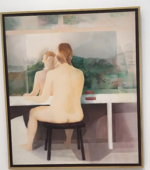 """""""Pensando en Proust,"""" by Puerto Rican artist Myrna Báez"""