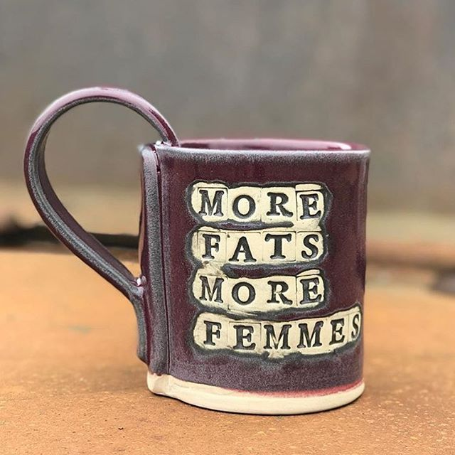 Headed to Philly all the way from Minnesota, @art_is_dirty will have mugs, pipes, and more for high femmes and coffee drinking queers. Get to @wowphilly on Sunday, 2-10 pm!