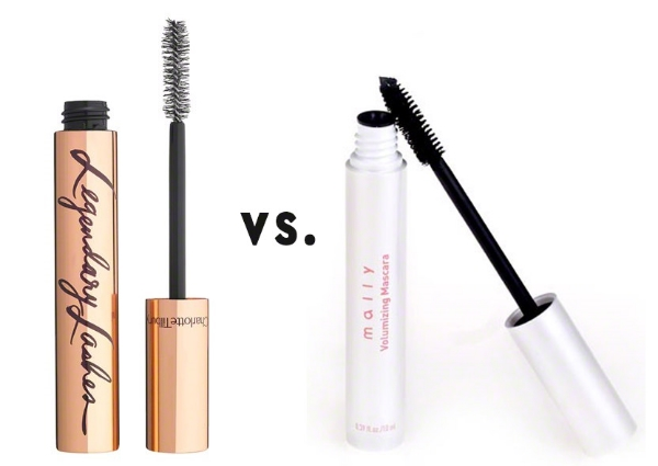 Charlotte Tilbury's Legendary Lashes Mascara vs. Mally Beauty's Volumizing Mascara