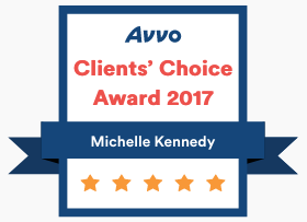 Michelle Kennedy Avvo Client Choice Award 2017.png