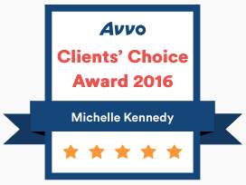 Michelle Kennedy Avvo Client Choice Award 2016.png