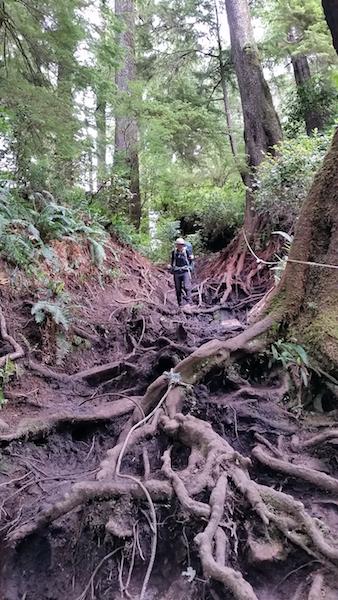 We were glad it wasn't raining!