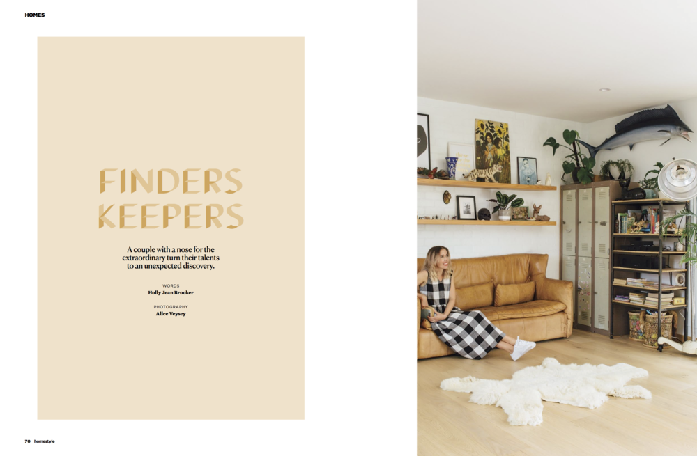 - Homestyle Magazine 2017A stunning home at Mount Maunganui, styled by the owners of clothing brand, Lower, Stacey and Jake Pyne. Merging their eclectic mix of vintage and contemporary finds over the years.Words by Holly Jean BrookerPhotography by Alice Veysey