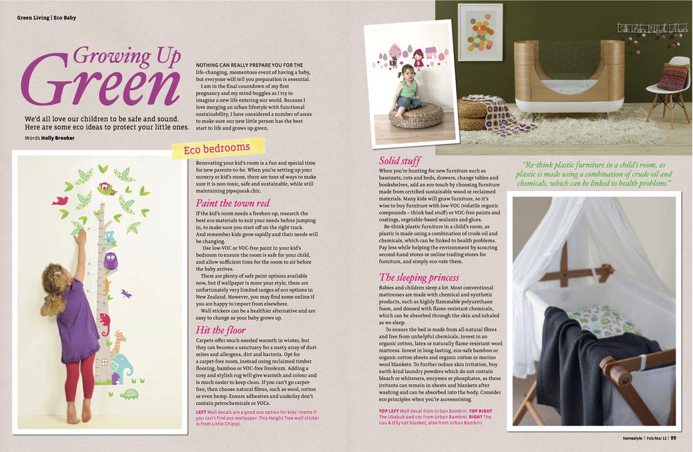 - Homestyle MagazineWe all want our children to be safe and sound, and healthy. Here are some tips when decorating your babies bedroom to keep them safe.Words by Holly Jean Brooker
