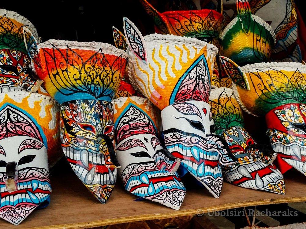 Phi Tha Khon Masks