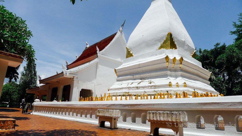 Stupa at Phra That Sri Song Rak