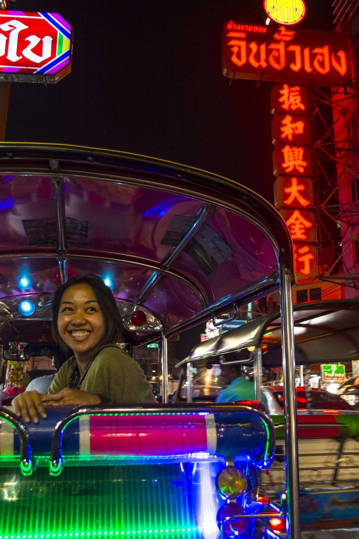 Me in Bangkok's Chinatown!   Photo Credit: Witchawain Panyasombat (Ice)