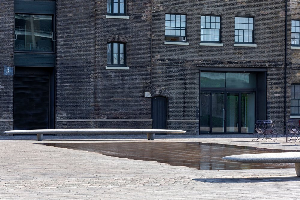 Bench, 2016   Granary Square, King's Cross