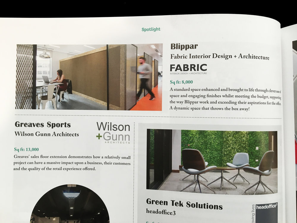 Mix Blippar / Fabric Interiors
