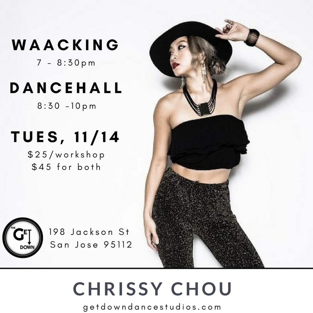Waacking & Dancehall with Chrissy Chou