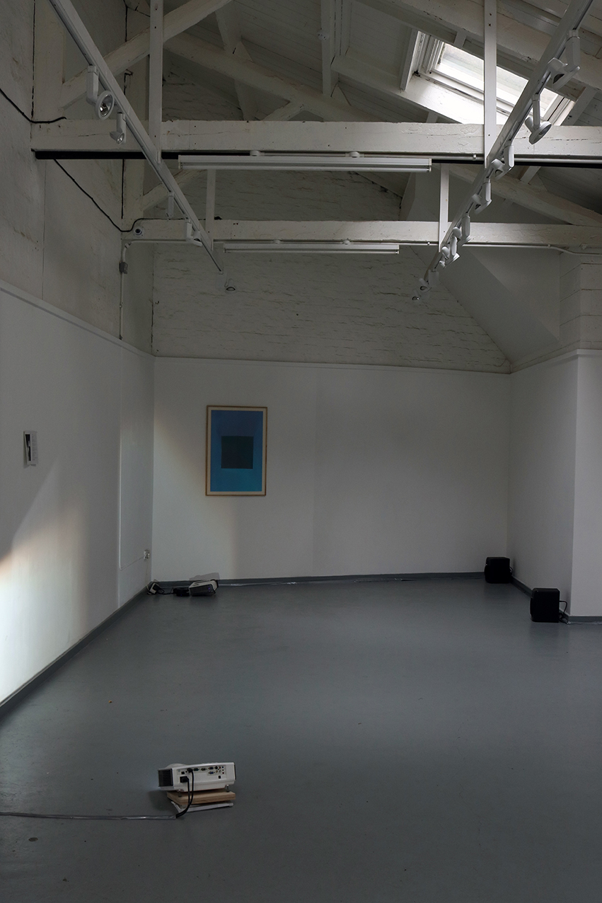 View of 'Warm Light', 2015 & 'Gloaming', 2015