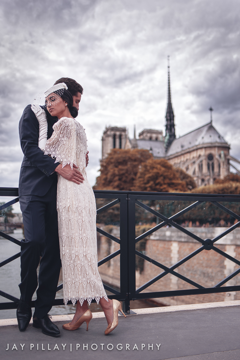 Paris wedding photography Notre Dame