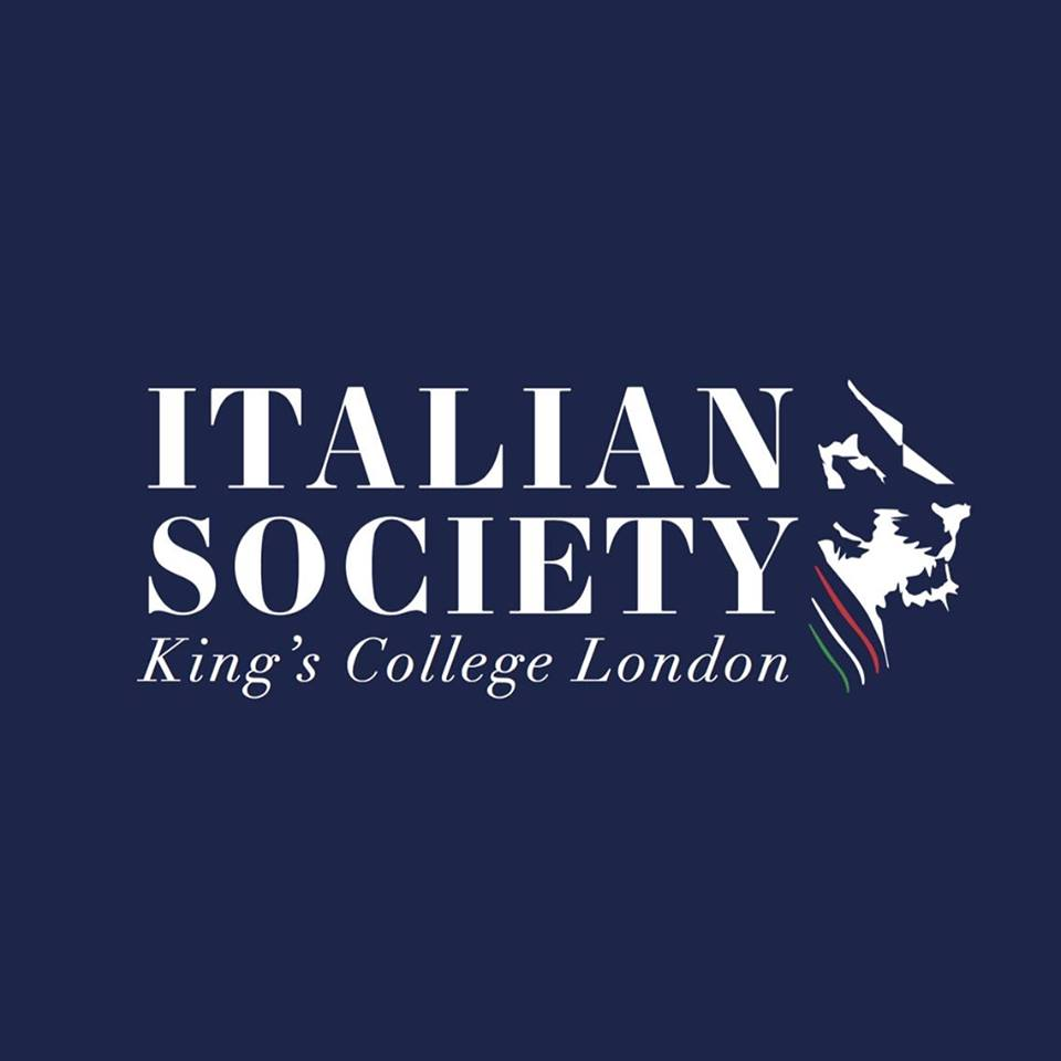 KCL Italian society   Since its foundation, mixing tradition and innovation, the KCL Italian society has always researched and developed new strategies to promote the excellence of the Italian culture, both at King's College London and outside. We are proud to be an ambassador of the Italian history, language and lifestyle in London's vibrant and multicultural society.
