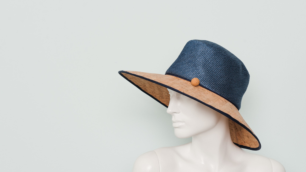 Raffia and cork sunhat