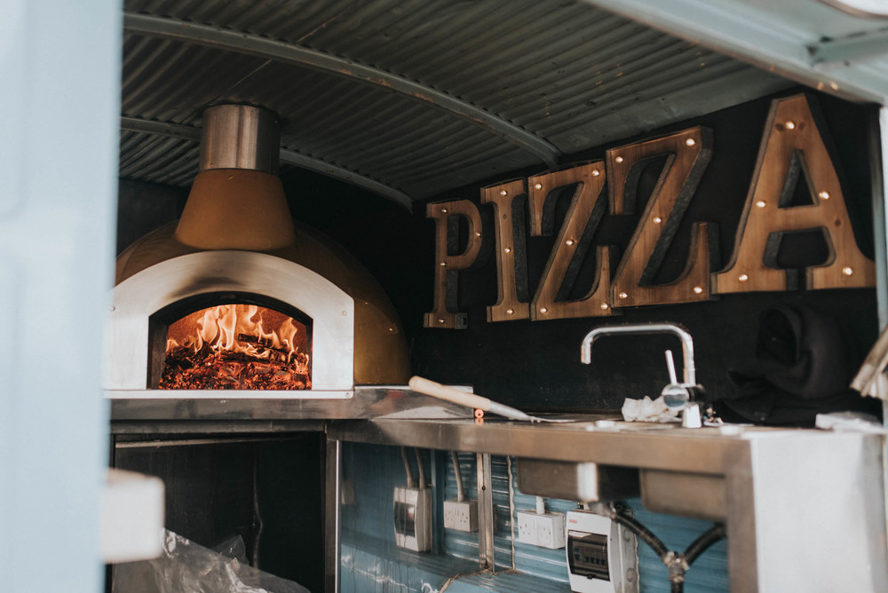 pizza oven street foot herfordshire wedding