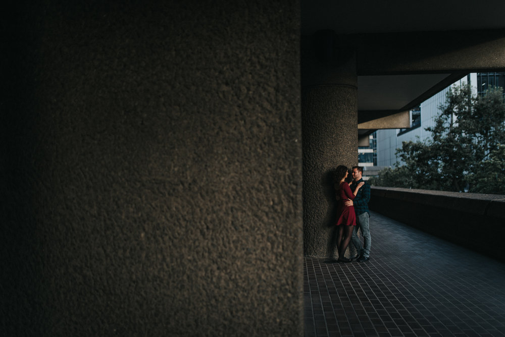 Creative Barbican Centre Engagement Photoshoot