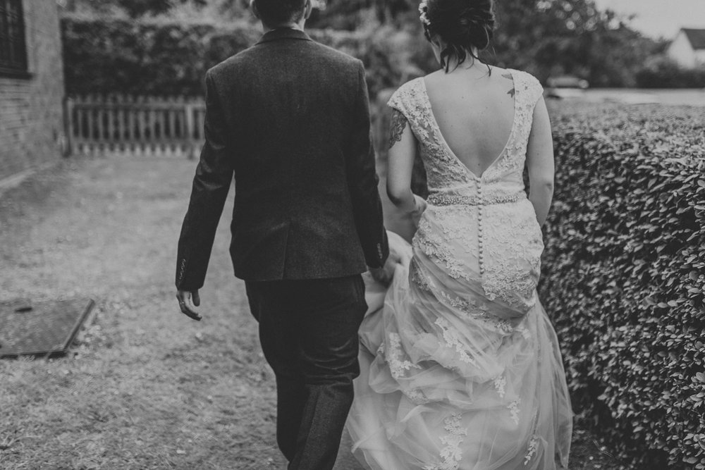 Creative & Alternative  Hertfordshire wedding