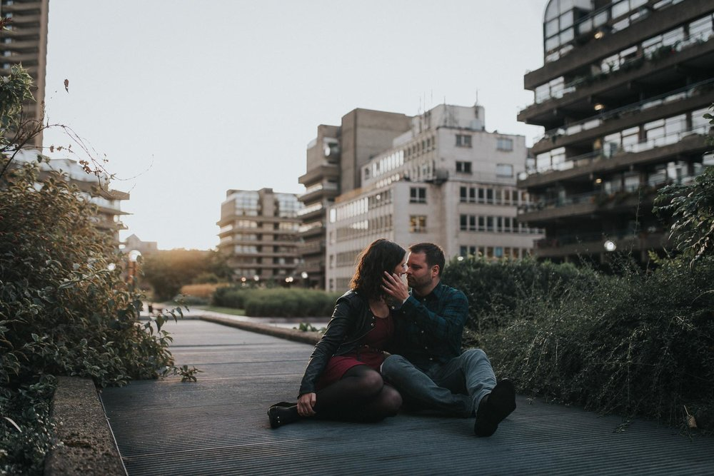 Romantic pre wedding photography london