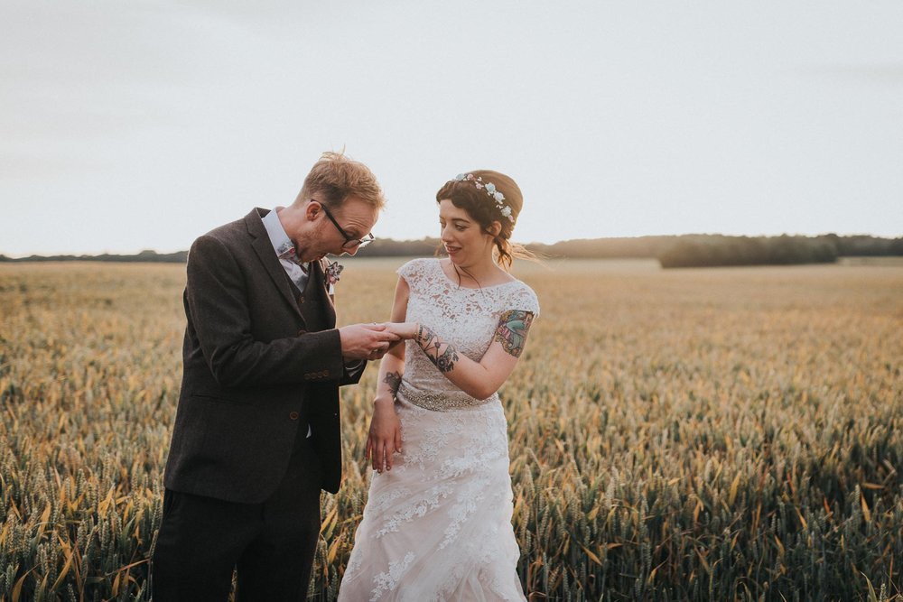 Creative Hertfordshire Wedding