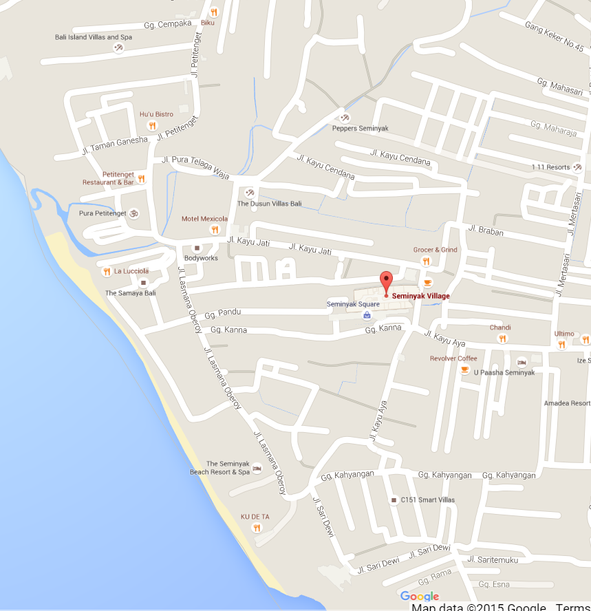 Google MAP Seminyak Village.png