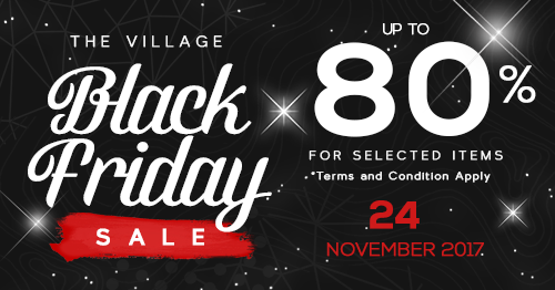 BLACK FRIDAY - Black Friday Sale on 24th November 2017* Terms & Conditions Applay
