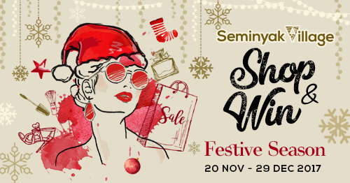 SHOP & WIN - Start from 20th Nov - 29th Dec 2017 Stand a chance to win
