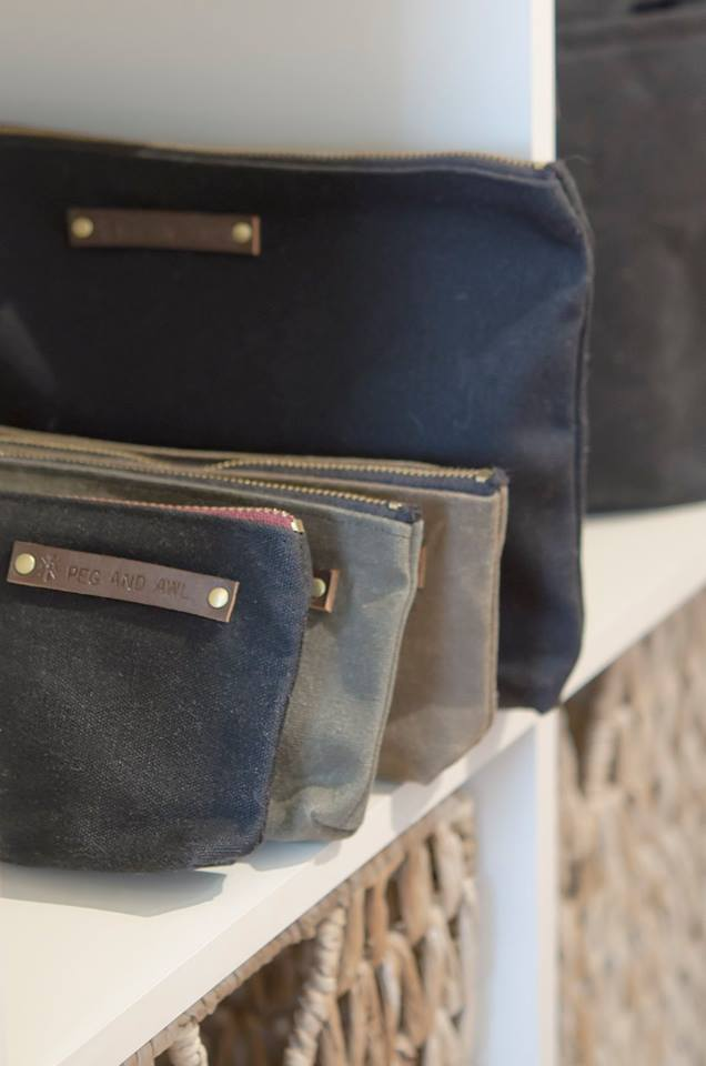 Known for their durability and design, Peg and Awl pouches are made from waxed canvas which is perfect for the artist, traveler, on-the-go person in your life.