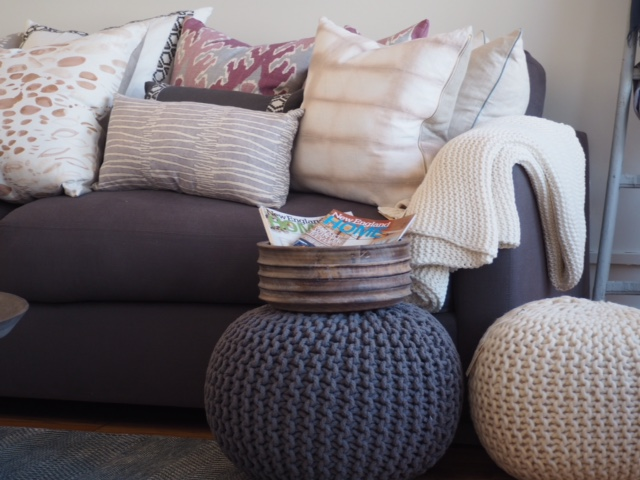 Poufs Are A Perfect Functional Piece For Tray Setting And Serving.