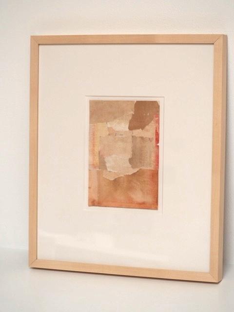 Collage LXV, Jeanette O'Connor. Found paper.