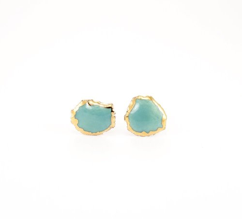 ZOË+COMINGS+large+raw+studs,+teal-gold+edge.jpg