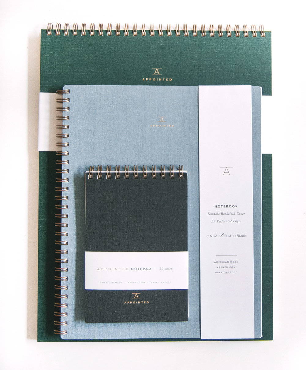 Appointed Notebooks