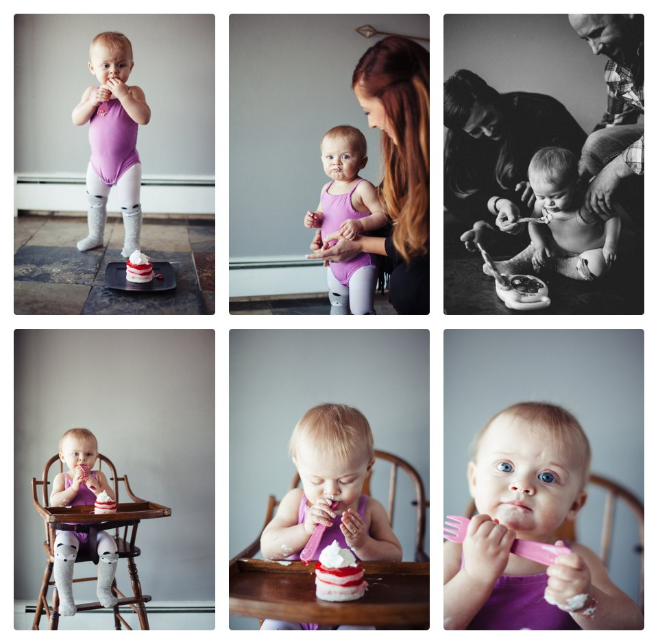 """Thanks mom and dad but I'll just take this fork....."""