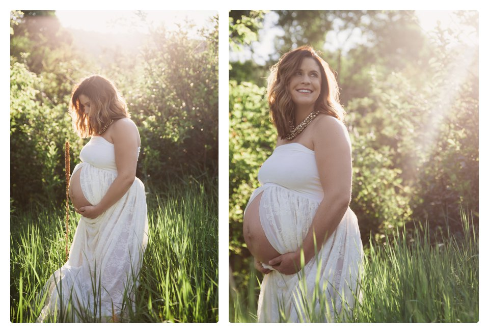 Denver lifestyle maternity photography