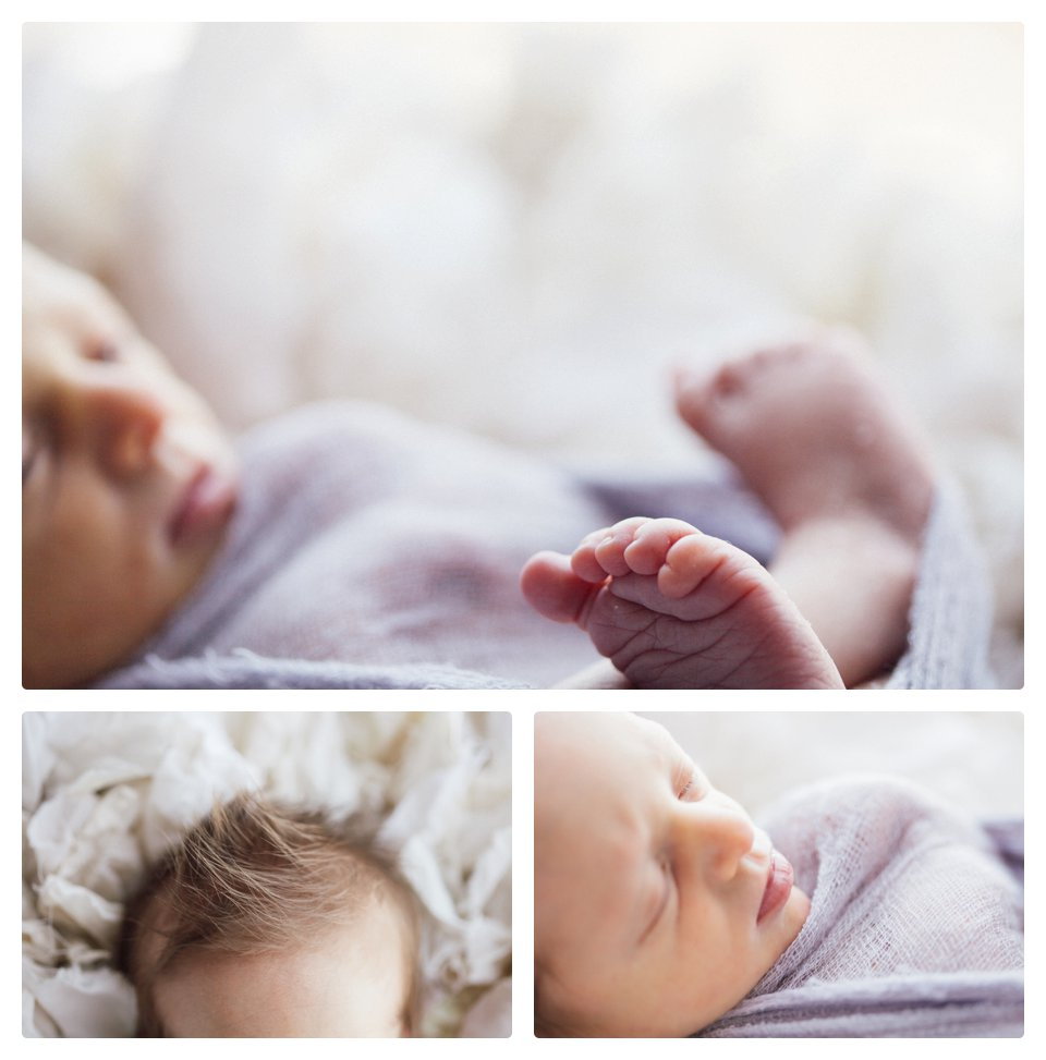 Denver lifestyle newborn photography