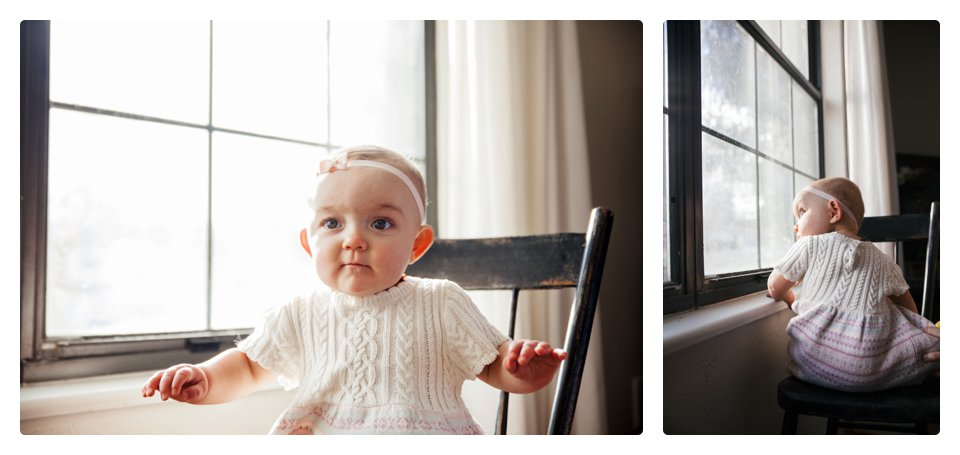 Denver lifestyle baby photography