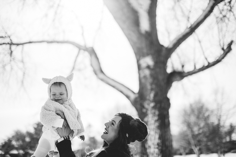 denver lifestyle baby photographer