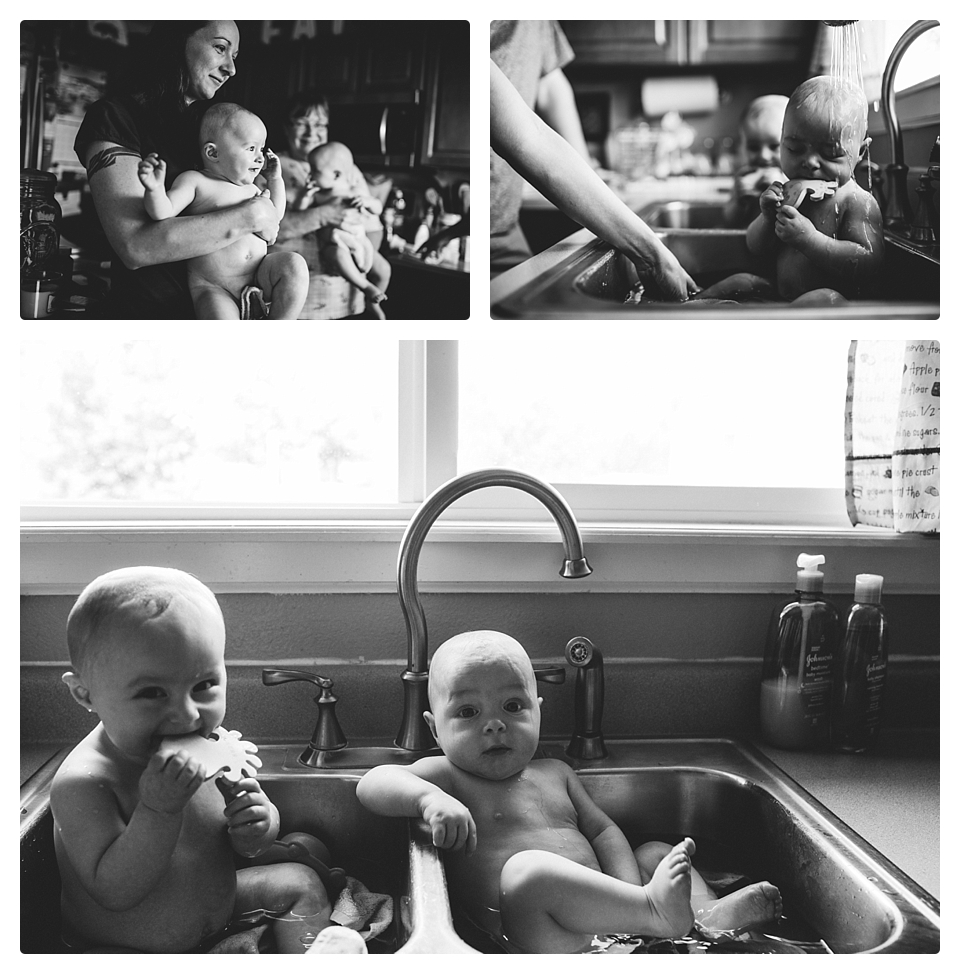 bathtime twins photography denver milestone