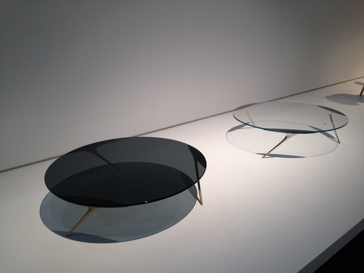 Tables from Funi Ding one of ICFF's 2015 Studio Design Winners